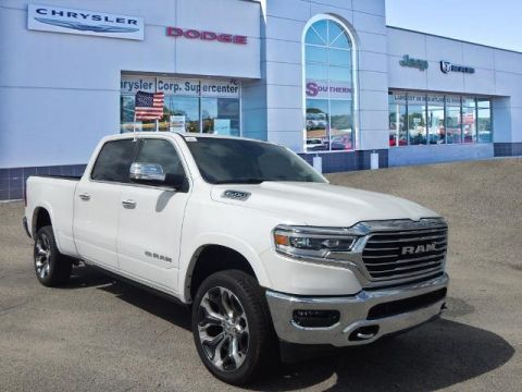 New 2019 RAM All-New 1500 Laramie Longhorn 4x4 Crew Cab